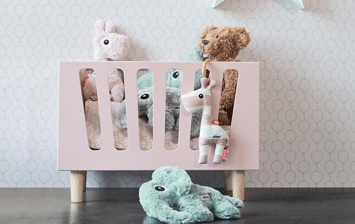 łożeczko dla lalek skandynawskie