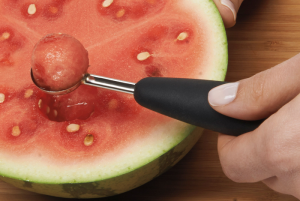 Łyżeczka do wykrawania kulek z owoców i warzyw