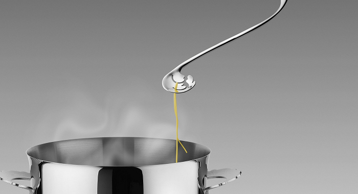 łyżka do próbowania makaronu