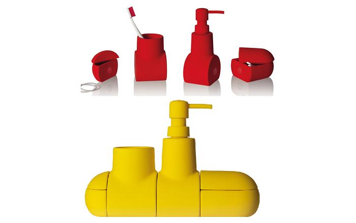 Zestaw łazienkowy łódź podwodna Sumbarino firmy Seletti