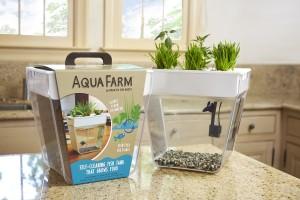 Aqua Farm - samoczyszczące się akwarium