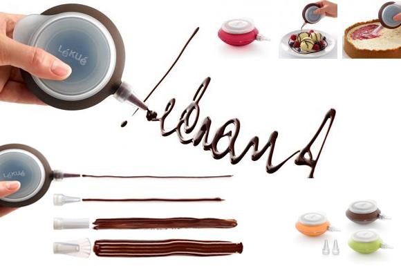 Narzędzie do dekorowania potraw Deco Pen firmy Lekue