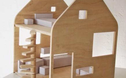 domek dla lalek drewno