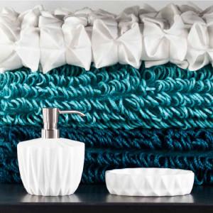 Dozownik do mydła origami firmy Aquanova
