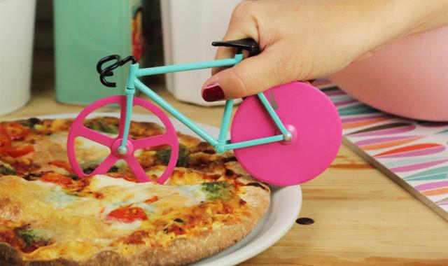 nóż do pizzy rower