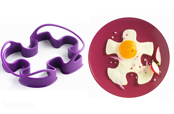 Foremki do jajek Puzzle firmy Mastrad