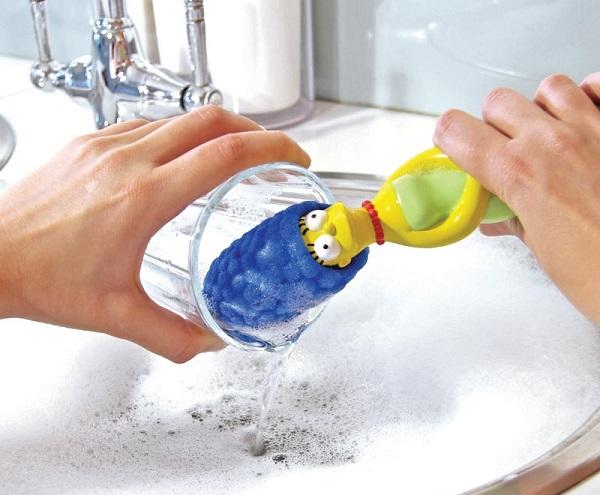 gąbka do mycia naczyń marge the simpson