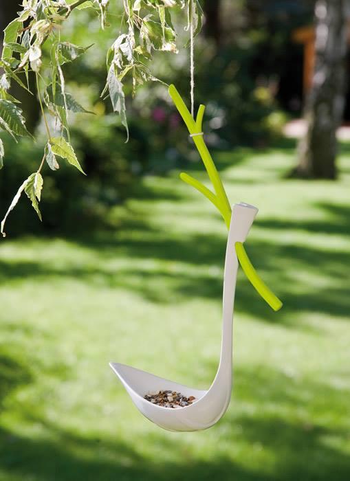 karmnik dla ptaków łyzka