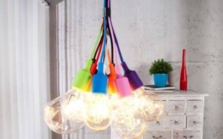 lampa kolorowe zarowki