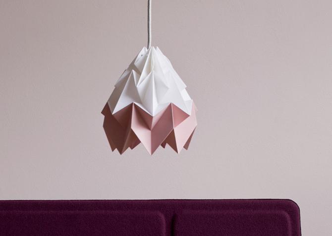 Geometryczna lampa origami by Snowpuppe