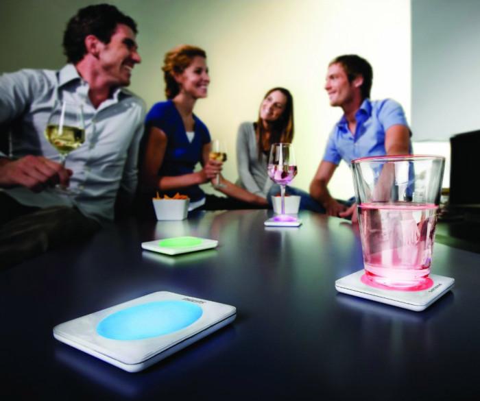 Świecące podkładki pod szkanki Lumiware Philips