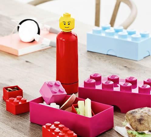 Pudełko na lunch klocek Lego