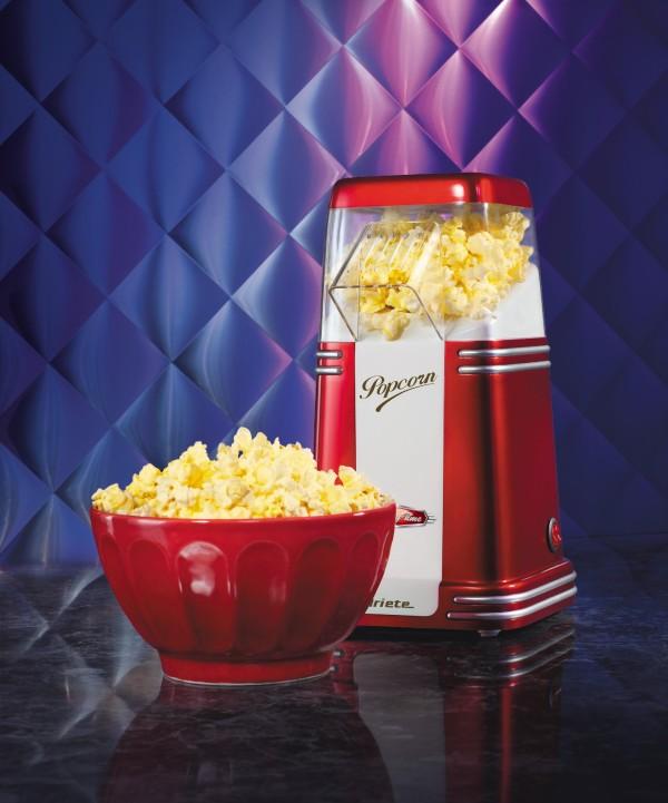 Retro maszyna do popcornu z serii Party Time od Ariete