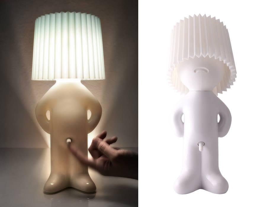 nieśmiała lampka