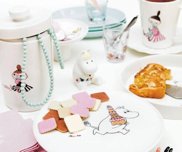 Patera na wypieki Muminek z serii Moomin Celebration od Arabia Finland