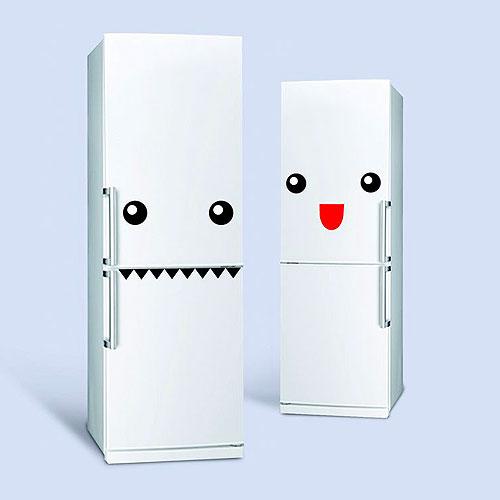 Zabawne naklejki na lodówkę potworki Doiy Design