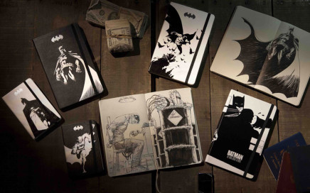 notesy batman moleskine