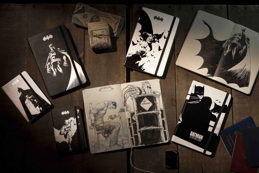 notesy batman moleskine