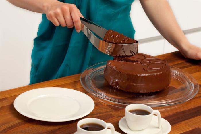 Specjalny nóż do ciasta Cake Server firmy Magisso