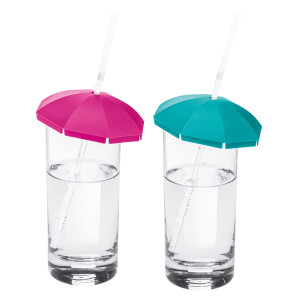 Pokrywki do szklanek parasolki KOZIOL