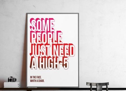 plakat high 5