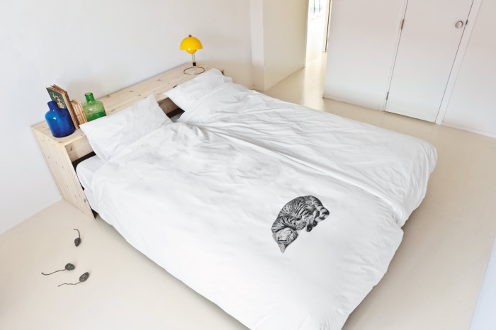 Pościel z kotem Ollie firmy Snurk