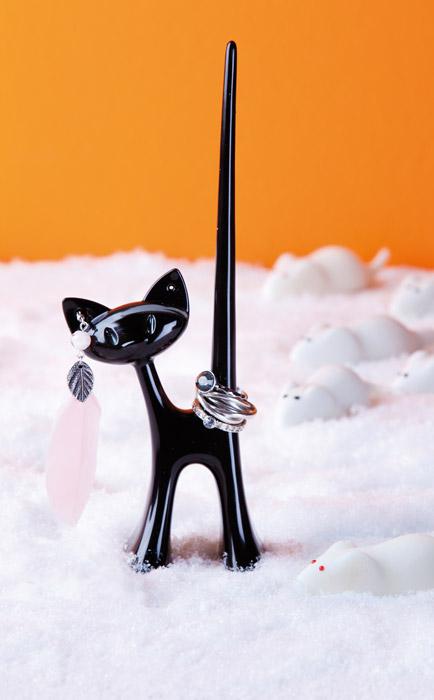 Stojak na biżuterię kot Miaou firmy Koziol