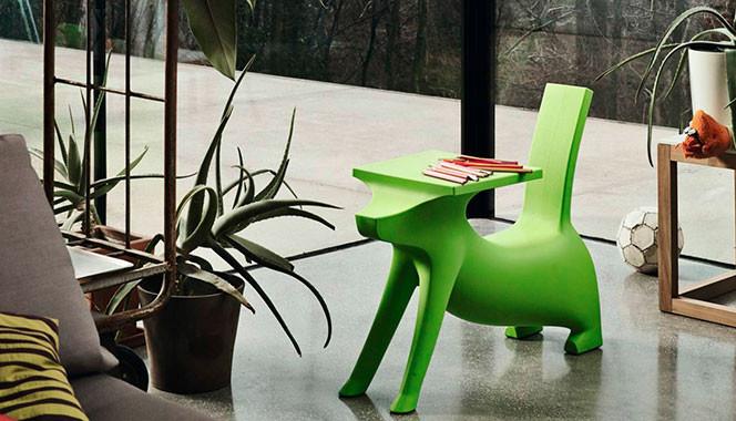 stolik krzesło dla dziecka pies