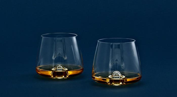 Eleganckie szklanki do Whisky od Normann Copenhagen