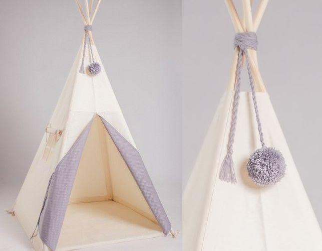 Stylowy namiot tipi dla dziecka marki NuNuNu