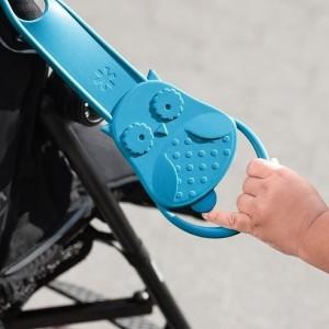Uchwyt trzecia ręka w kształcie sowy firmy Skip Hop