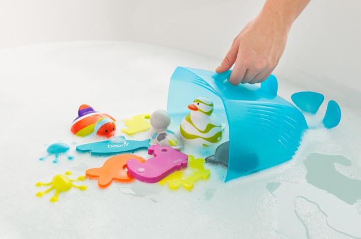 Organizer do zabawek do kąpieli wieloryb firmy Boon