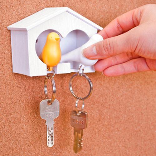 wieszak na klucze budka dla ptaków Qualy