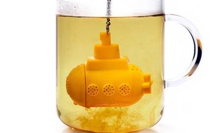 zaparzacz lodz podwodna yellow