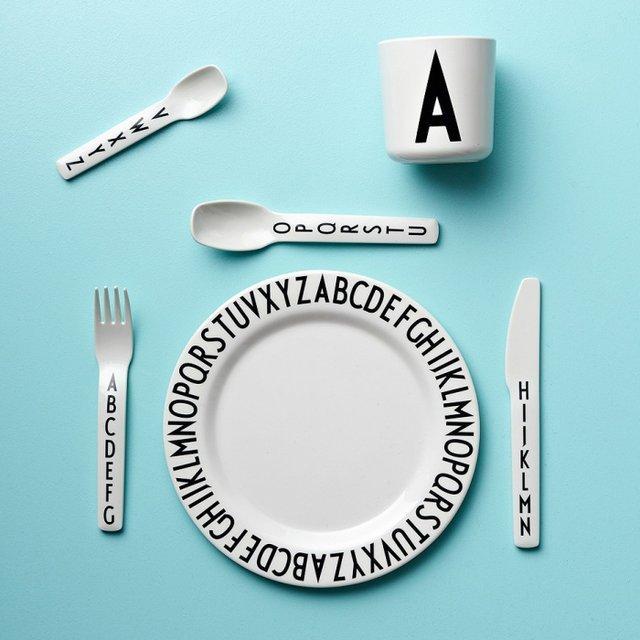 Zestaw obiadowy dla dziecka AJ Kids od Design Letters