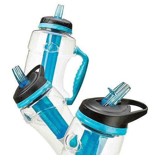 Butelka z filtrem i wkładem chłodzącym Pure od Cool Gear
