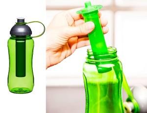 Butelka na wodę z wkładem chłodzącym Sagaform