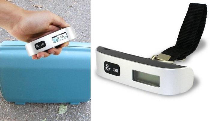 elektroniczna ręczna waga do bagażu