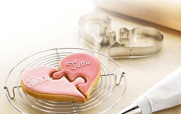 foremka do ciastek serce puzzel