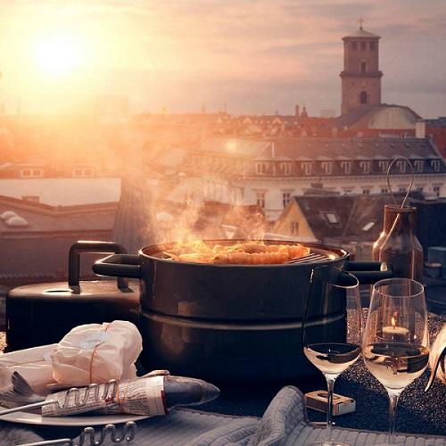elegancki grill stołowy eva solo