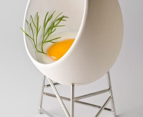 koszyczek do gotowania jajek alessi