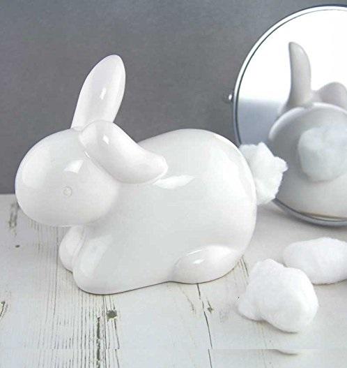 Ceramiczny królik na watę