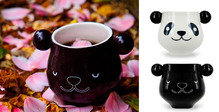 kubek panda zmieniająca kolor