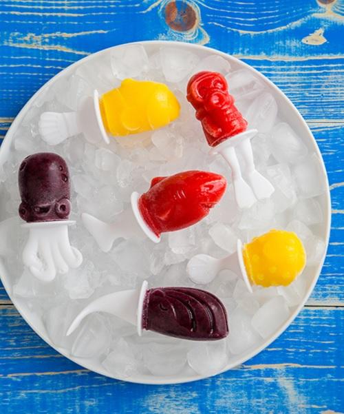 formy do lodów zoku rekin