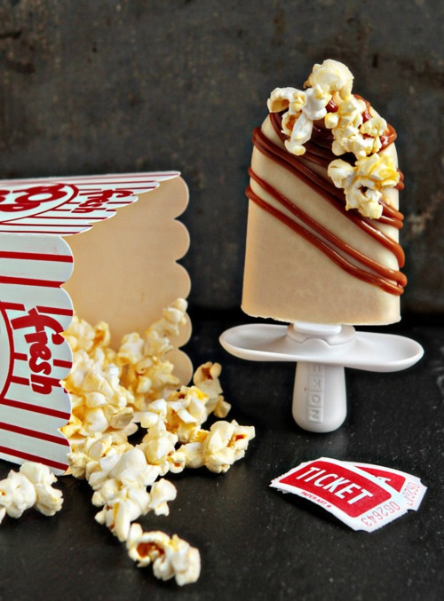 lody homemande zoku popcorn