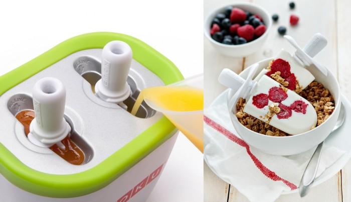 Maszynka do lodów na patyku Quick Pop firmy Zoku