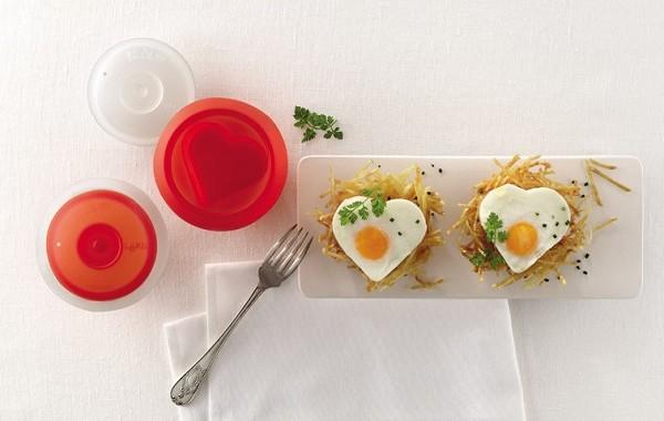 naczynie do jajecznych serc
