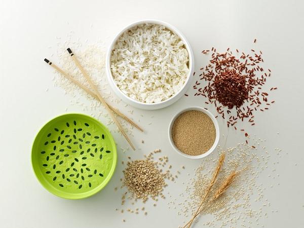 Pojemnik do gotowania ryżu w mikrofali Native od Lekue
