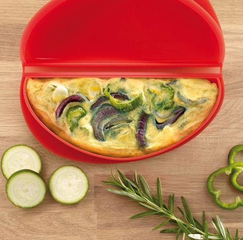 Naczynie do robienia omletów w mikrofalówce marki Lekue