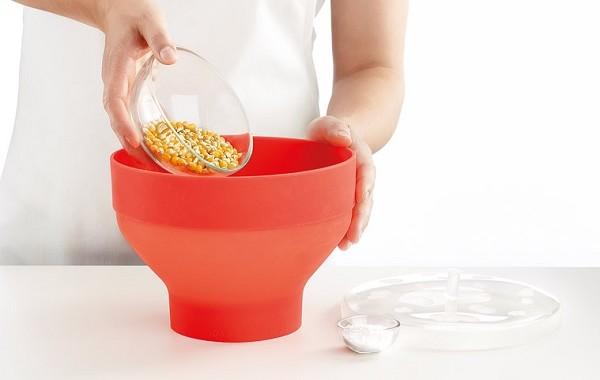 silikonowe naczynie do popcornu native Lekue